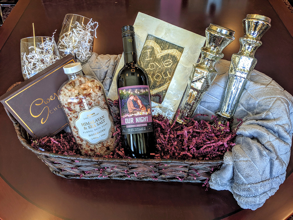Our Wine Gift Basket Ideas