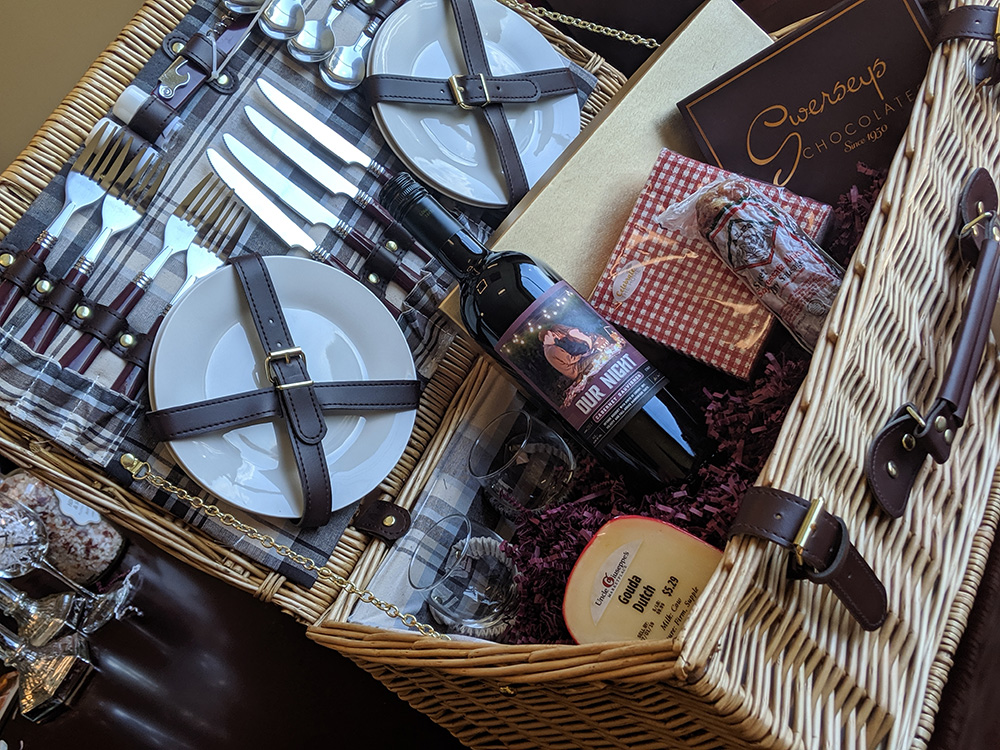 Our Night Gift Basket Idea