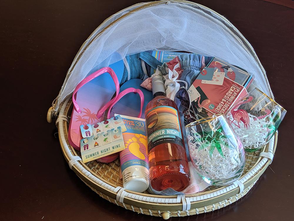 Summer Night Gift Basket Ideas