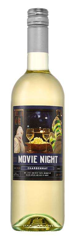 Movie Night Chardonnay Wine