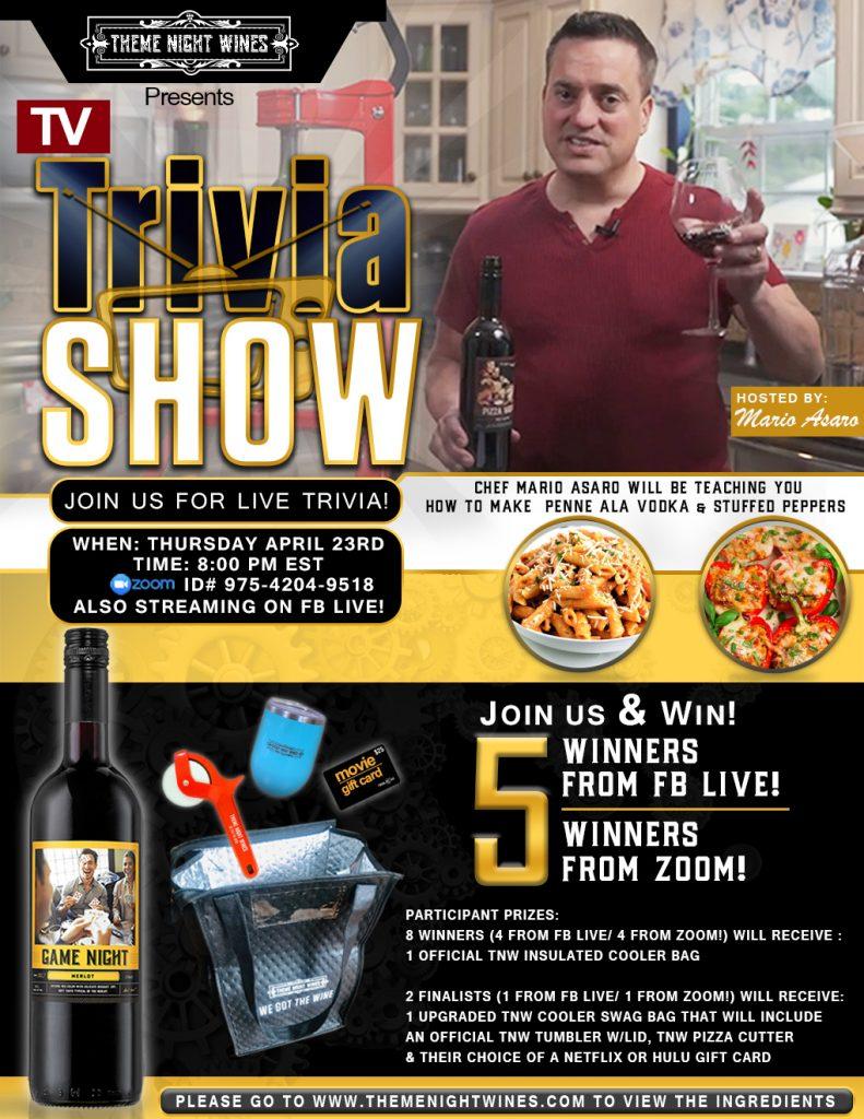 TNW TV Trivia Show Event