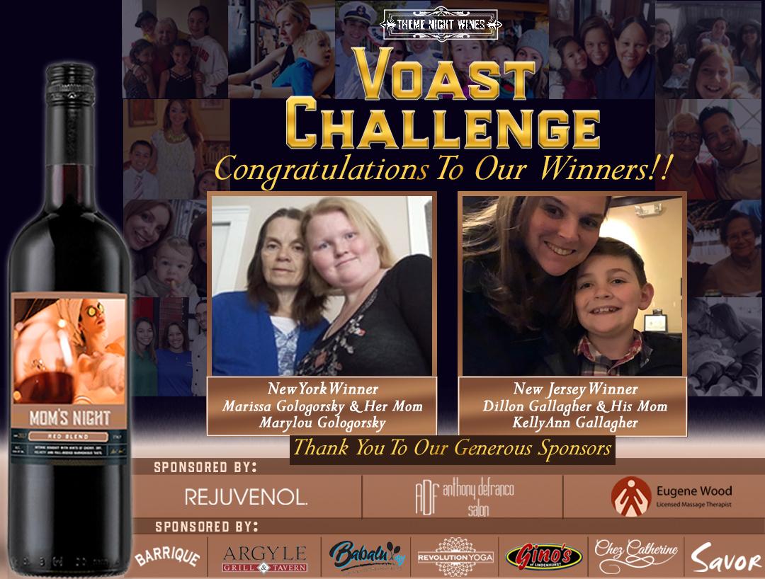 Voast Challenge Winners