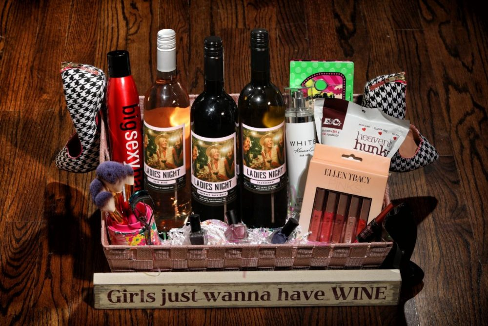 Ladies Night Wine basket