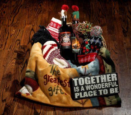 Theme Night Wines | Holiday Gift Basket | Framily Night | Winter Night