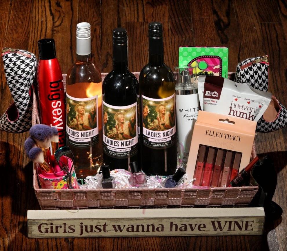 Theme Night Wines   Ladies Night Wine Basket