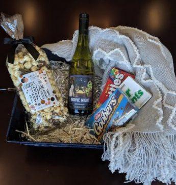 Theme Night Wines | Movie Night Gift Basket | Chardonnay