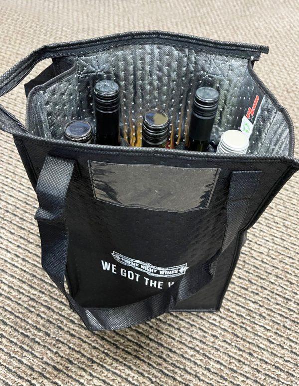 Theme Night Wines Coller Wine Bag
