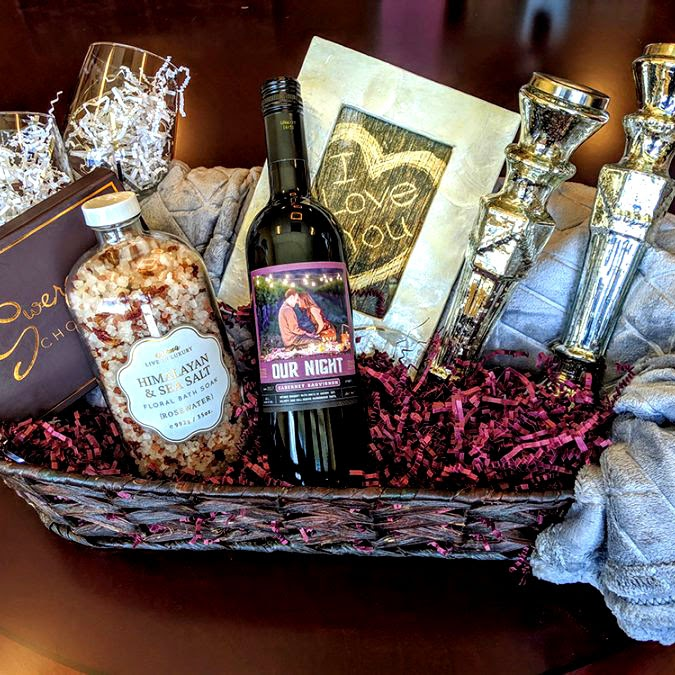 Holiday Ideas - Our Night Gift Basket