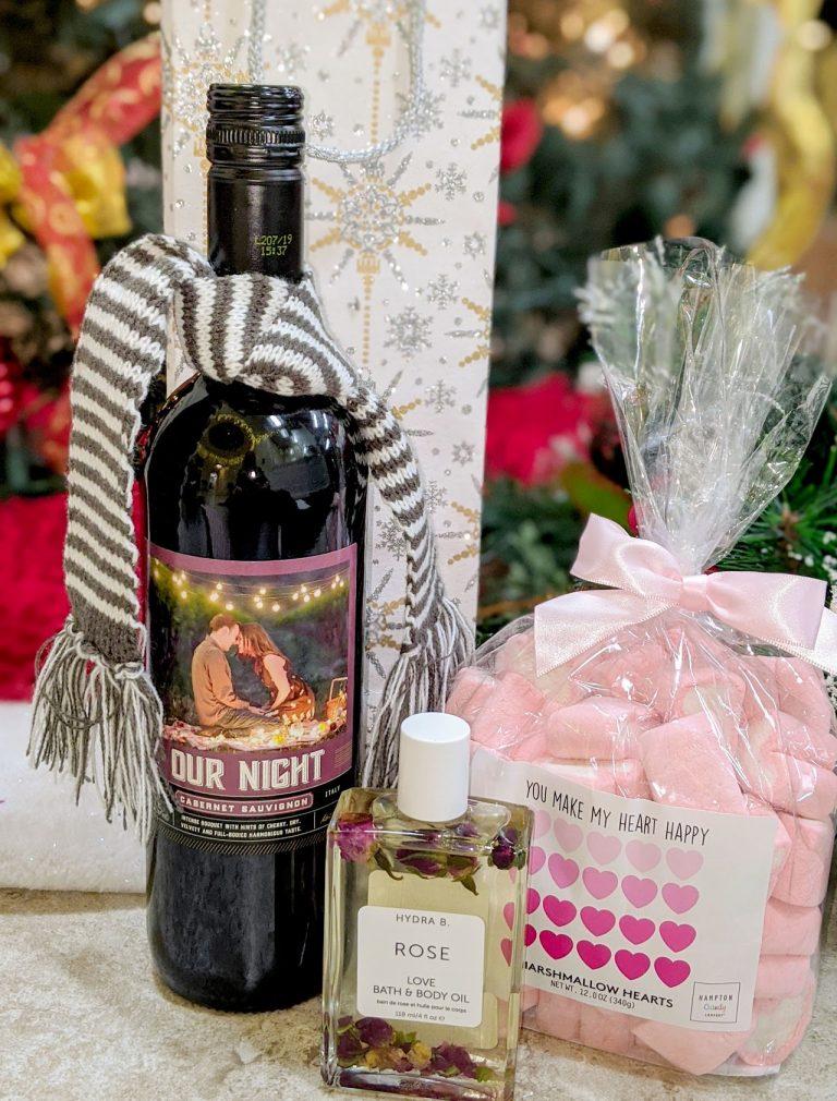 Theme Night WInes | Our Night DIY Wine Basket under $25