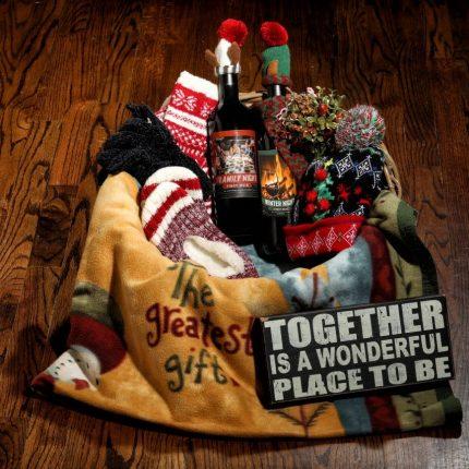 Holiday Ideas - Framiliy, WInter Night Gift Basket