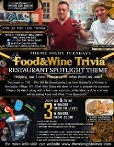 Food Wine Trivia