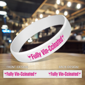 Fully Vin-Ccinated Wristband