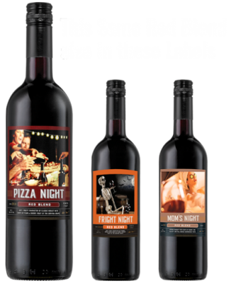 Pizza Night & Fright Night, Mom's Night Wines Rated 90 Points by the Sommelier Company