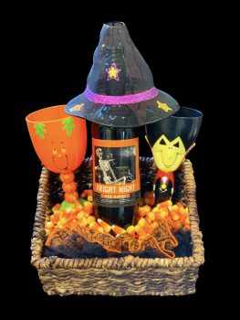 Theme Night Wines Fright Night candy corn